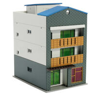 Outland Building Model N Scale Gauge 1/144 3 Story Building Scenary FOR GUNDAM