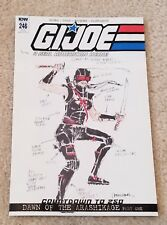 G.I. Joe 246 Larry Hama 1:10 Female Snake-Eyes Incentive Variant 1st Appearance