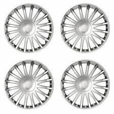 4 x Radkappen Radzierblenden für 14 Zoll Felgen Typ Crystal silber Stern Optik