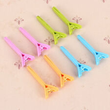 5PCS/lot Lady Solid Hair Clip Stylish Hairdressing Salon Plastic Claw Clamp HOT