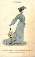 Publicité ancienne la mode pratique robe d'été voile de laine No 24 1903