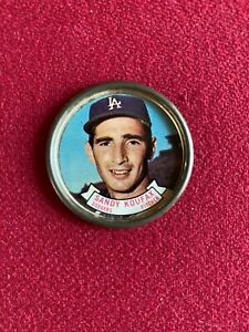 """1964, Sandy Koufax, """"TOPPS""""  Collectors Coin (Scarce / Vintage) Dodgers"""