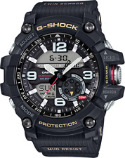 Casio G-Shock Men's Mudmaster Twin Sensor Black Resin Strap 55mm Watch GG1000-1A