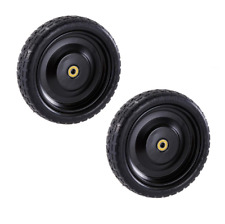 "Gorilla Cart Tires Replacement No Flat Utility Hand Truck Wagon Wheels 13"" 2Pcs"