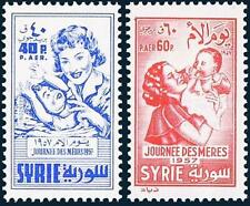 SYRIA 1957 MOTHER's DAY MNH