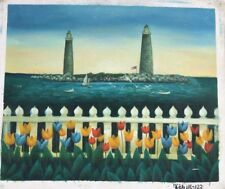 "Lighthouse ART OIL PAINTING 20x24"""