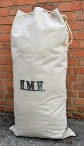 Belgian Royal Navy Kit Bag Large Size Heavy Duty Canvas Marines Army Duffle Bag