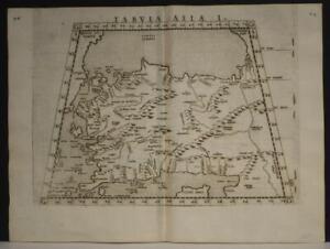 TURKEY ARMENIA CYPRUS 1564 PTOLEMY & RUSCELLI UNUSUAL ANTIQUE ORIGINAL MAP