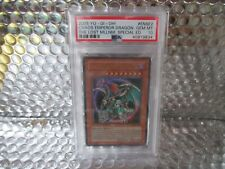 Yu-Gi-Oh! Chaos Emperor Dragon - Envoy of the End TLM-ENSE2 Ultra Rare PSA 10