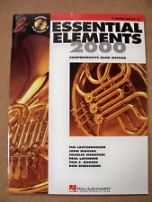 Essential Elements 2000 F Horn Book 2 Cd Included