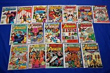 Avengers Lot of 17 Comics Near-Complete Run #212-229 Bronze Age Key High Grade