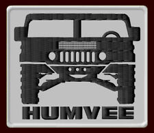 "HUMVEE EMBROIDERED PATCH ~3"" x 2-5/8"" MILITARY JEEP HUMMER H1 SUV HMMWV ALPHA"