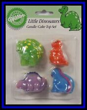 NEW! Wilton*LITTLE DINOSAURS CANDLES & DECORATIONS**NIP