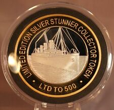 THE TITANIC - SILVER STUNNER COIN - LIMITED EDITION 500 RELEASED