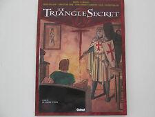 TRIANGLE SECRET T3 REEDITION TTBE DE CENDRE ET D'OR