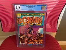 Conan the Barbarian #19 CGC 9.2 White Pages