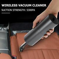 Kabellos Mini Staubsauger 35W USB Wiederaufladbar Hand Reiniger für Auto Heim