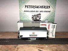 Märklin H0 44189 Gedeckter Güterwagen Binding   in OVP  GW226  O1019