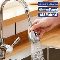 360° Rotate Kitchen Faucet Adapter Spray Water Saving Tap Head Faucet Extender