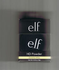 ELF HIGH DEFINITION LOOSE POWDER CORRECTIVE YELLOW 83334 HD E.L.F.