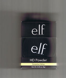 ELF HIGH DEFINITION LOOSE POWDER CORRECTIVE YELLOW 83334 HD E.L.F.