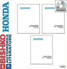 1999 2000 2001 2002 2003 2004 Honda Odyssey Shop Service Repair Manual CD