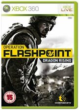 Operation Flashpoint Dragon Rising Xbox 360 version européenne Inc Disc box manual