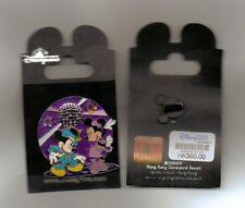 DISNEY PIN Mickey & Minnie Disco Dancing 3-D Motion