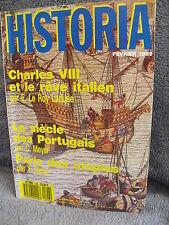 Charle VIII et rêve italien, Ph. Berthelot,  Napoléon  Talleyrand, HISTORIA 506
