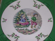 Royal Doulton Christmas Plate 1979 Sleigh Ride