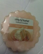 YANKEE CANDLE TART RARE AND AWESOME VANILLA FROSTING SIMPLY HOME