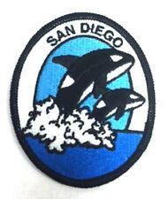 California San Diego Orcas Embroidered Souvenir Patch