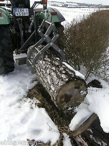 Holzzange Verladezange 2 Reihig mit Ladehilfe verschraubt und nicht geschweißt