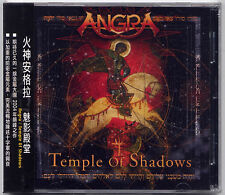 Angra: Temple of Shadows (2004) / CD OBI  TAIWAN