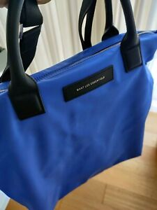 WANT Les Essentiels OHare Nylon Shopper Laptop Tote - cerulean blue nylon