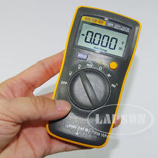 Mini Pocket 600V LCD Digital Multimeter Voltage Meter AC DC Tester FLUKE 101