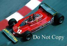 Gilles Villeneuve Ferrari 312 T4 Monaco Grand Prix 1979 Photograph 7