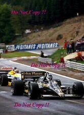 Johnny Dumfries JPS Lotus 98T French Grand Prix 1986 Photograph