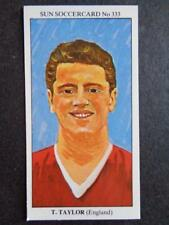 LE SOLEIL soccercards 1978-79 - Tommy Taylor - ANGLETERRE #333