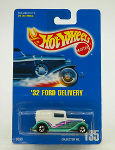 Hot Wheels '32 Ford Delivery 1991 New Free Shipping