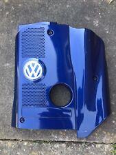 VW PASSAT 1.8T B5.5 ENGINE COVER 2001 - 2005 PEARL BLUE 058103724 AG/AC/AE
