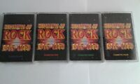 Super Hits Of Rock. 1965 - 1979  4 Cassettes. Various Rock Artists Over 4 Hours