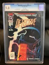 DETECTIVE COMICS ANNUAL #4 CGC 9.8 (1991) DC HTF ARMAGEDDON 2001 Batman NM/MT