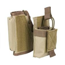 Rifle Stock Riser With Mag Pouch AR15 AK Butt Stock Magazine Pouch 223 7.62 Tan