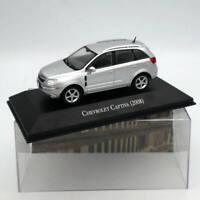 IXO Altaya Chevrolet Captiva 2008 Silver 1/43 Diecast Models Limited Edition