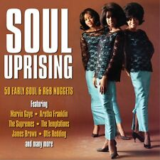 Soul Uprising 2-CD NEW SEALED Sam Cooke/Mary Wells/Four Tops/Supremes/Ben E.King