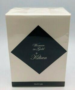 Woman In Gold by Kilian Eau De Parfum Refillable 1.7oz/50ml Spray New In Box