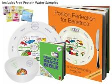 Portion Perfection Portion Control Bariatric Kit Porcelain, FREE Protein Samples