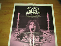 Tales That Witness Madness Original 1sh Movie Poster