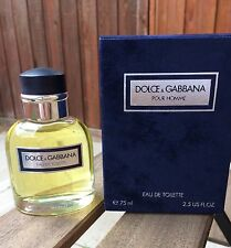 Dolce and Gabbana pour homme 75ml SPLASH (VINTAGE)